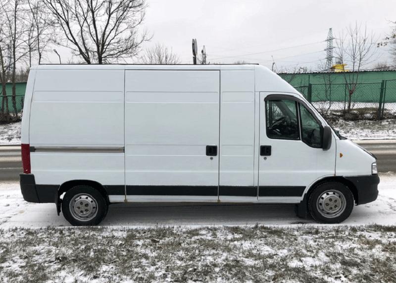 Изотермический фургон Fiat