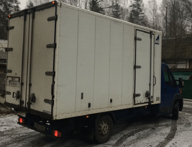 Промтоварный грузовик Fiat