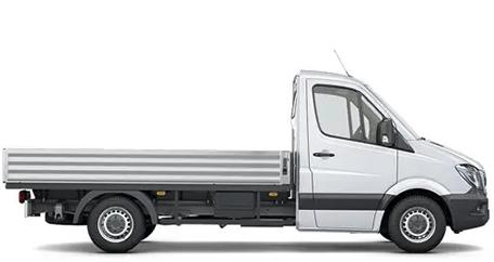 Бортовой грузовик Mercedes