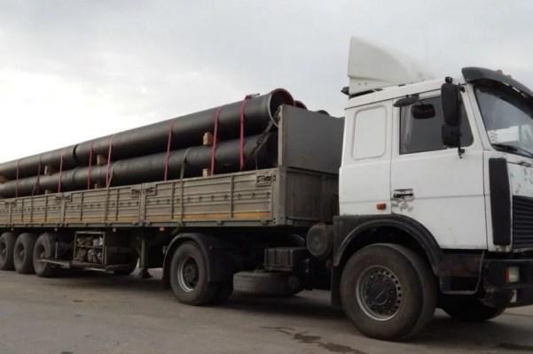Перевозка металлопроката автотранспортом